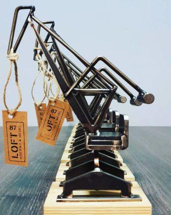 Industrialna dekoracja Żuraw Stoczniowy cała kolekcja
