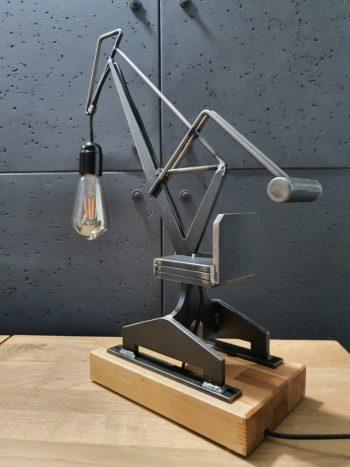 Lampa loftowa dekoracyjna Żuraw Stoczniowy
